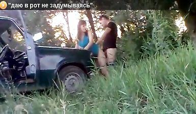 Русская девочка лишилась девственности пьяная в машине