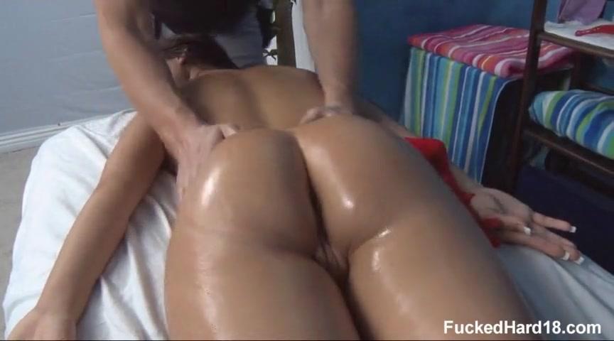 Порно развели на массаже