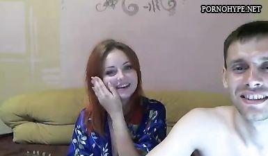 Рыженькая AnnaandJohn дрочит раздолбанную пизду в порно чате БонгиКамс