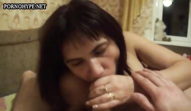 Снял оральный секс с 30 летней женой на камеру телефона