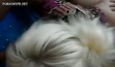 Русский домашний МЖМ секс с сексвайф и куколдом мужем