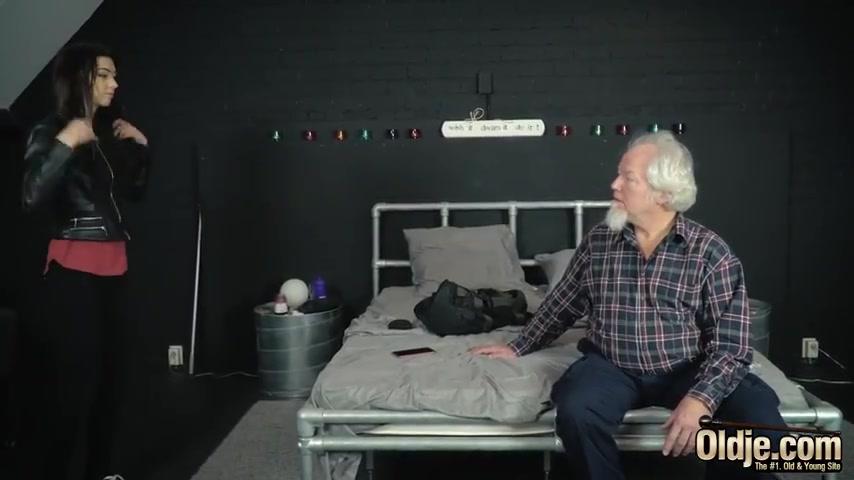 Порно Седой Старик