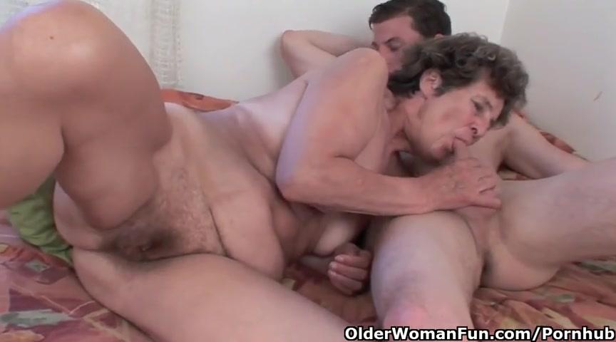 Оральный секс бабушки