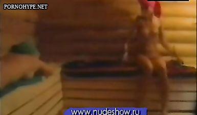 Слив видео из Дом-2 как голая Бузова парится в баньке