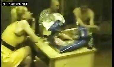 Солдаты срочной службы привели в казарму проститутку и сняли на камеру групповой секс