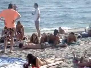 Казантип секс на пляже видео