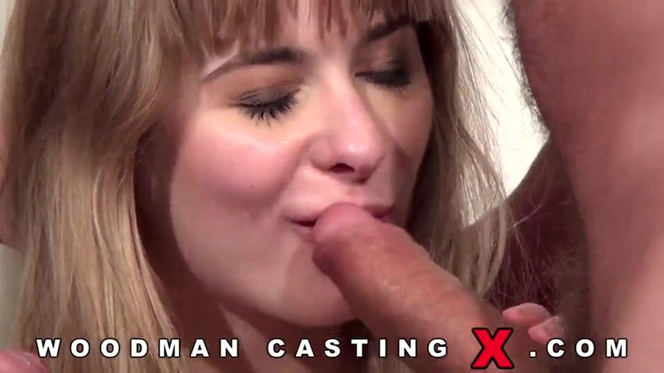 Первое двойное проникновение на порно кастинге