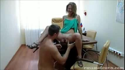 Скрытая порно офис