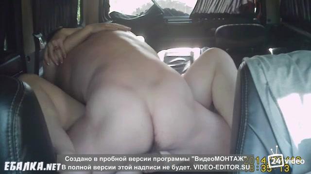 Реальное порно в машине