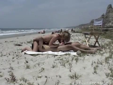 Онлайн секс супругов на пляже