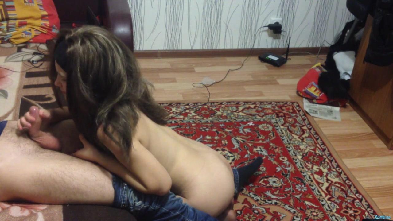 Первый домашний секс русской пары