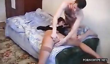 Любительский секс с пьяной русской давалкой в неадекватном состоянии