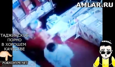 Скрытая камера сняла как таджик трахает таджичку продавщицу в магазине